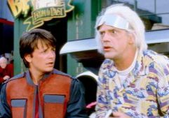 BACK TO THE FUTURE PART II, Michael J. Fox, Christopher Lloyd,  1989. (c)Universal/courtesy Everett Collection